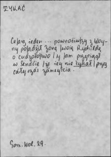 Kartoteka Słownika języka polskiego XVII i 1. połowy XVIII wieku; Tykać - Tylko1