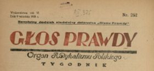 Głos Prawdy 1928 N.262