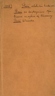 Pieśń Zołnierska W czasie Powstania Narodowego