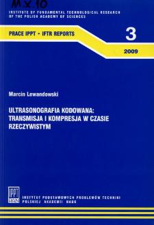 Ultrasonografia kodowana : transmisja i kompresja w czasie rzeczywistym