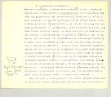 O złudzeniach wzrokowych : Kurs zimowy 1898/9 1 godz.[ina] tyg.[odniowo]