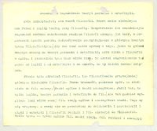 Zasadnicze zagadnienia teoryi poznania i metafizyki : Rok akademicki 1899/1900, semestr zimowy, 4 godz. tygodniowo. 1.Tekst wykładów