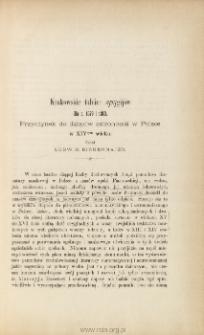 Krakowskie tablice syzygijów dla r. 1379 i 1380 : przyczynek do dziejów astronomii w Polsce w XIV wieku.