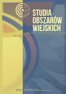 Organizacje pożytku publicznego na obszarach wiejskichw Polsce = Public benefit organizations in the rural areas of Poland
