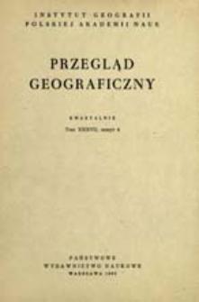 Przegląd Geograficzny T. 37 z. 4 (1965)