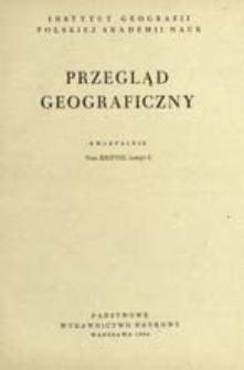 Przegląd Geograficzny T. 38 z. 2 (1966)