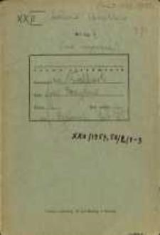 Zeszyty z badań gwarowych; XXII/1958,1957/2/1-3