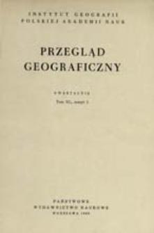 Przegląd Geograficzny T. 40 z. 2 (1968)