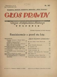 Głos Prawdy 1928 N.267