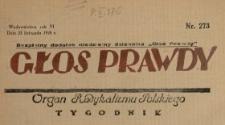 Głos Prawdy 1928 N.273