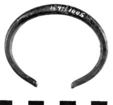bracelet (Stęszew) - metallographic analysis