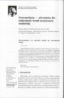 Fitoremediacja - alternatywa dla tradycyjnych metod oczyszczania środowiska