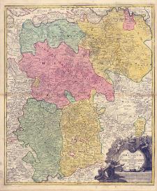 Ducatus Brabantiæ Nova Tabula in qua Lovanii Bruxellarum March S. Imperii Sylvæ Ducis et Mechliniæ Dominia in suas quasq. minores Ditiones subdivisa ostenduntur