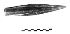 javelin spearhead (Tarnowa) - chemical analysis