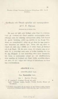 Gottlands och Olands spindlar och vattenqvalster