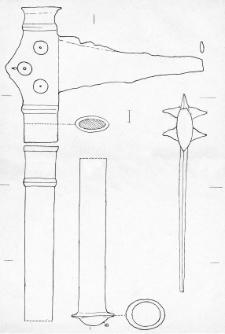 dagger-like scepter with handle (Łęki Małe)