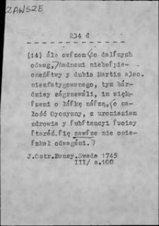 Kartoteka Słownika języka polskiego XVII i 1. połowy XVIII wieku; Zawitać - Zawzięty