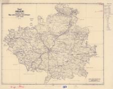 Powiat kielecki : województwo kieleckie : mapa administracyjna i komunikacyjna w skali 1:100 000