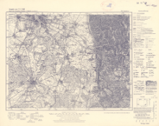 Karte des Deutschen Reiches 1:100 000, 558. Mannheim