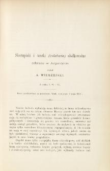 Skorupiaki i wrotki (rotatoria) słodkowodne zebrane w Argentynie (z tablicą V, VI i VII)