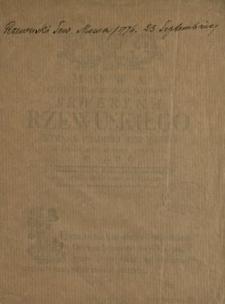 Mowa Jasnie Wielmoznego Jmci Pana Seweryna Rzewuskiego Hetmana Polnego Koronnego Na Seymie Dnia 23. 7bris 1776. Roku Miana
