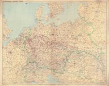 Gea-Übersichtskarte - Mitteleuropa 1:1 500 000