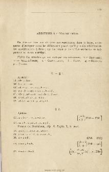 Formulaire de mathematiques. T. 1, Additions et corrections