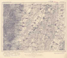 Karte des Deutschen Reiches, 616. Schlettstadt