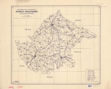Województwo szczecińskie, powiat Białogard : mapa administracyjna i komunikacyjna : skala 1:100 000