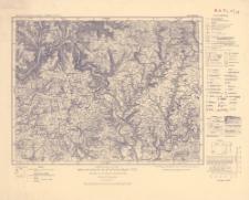 Karte des Deutschen Reiches 1:100 000, 559. Mosbach