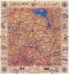 Standard-Luftbildkarte. Plan 23, Die Mark und Pommern