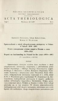 Microtus nivalis (MARTINS, 1842) (Rodentia) in the Carpathians
