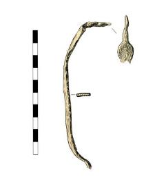 Artifact (hasp?), fragment