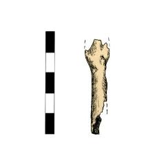 Arrowhead (?), fragment