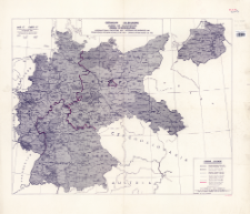 """Germany zones of occupation : international frontiers 1937- international boundaries 1941. Map """"C"""", To replace Map """"A"""" annexed to Protocol of 12th September, 1944"""