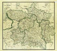Mapa sześciu gubernji Litwy i Białej Rusi