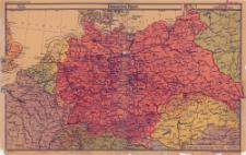 Deutsches Reich : Maßstab 1:4 000 000