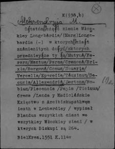 Kartoteka Słownika polszczyzny XVI w.; Aleksandryja - Apollo