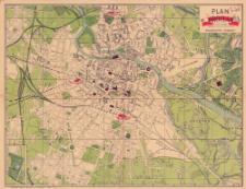 Plan miasta Wrocławia z alfabetycznym spisem ulic, planów, mostów i dzielnic