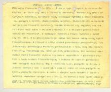 Filozofia w XIX w. 2. Filozofia francuska wieku XIX. Półrocze letnie 1903/4. 2 godz.[iny] tyg.[odniowo]