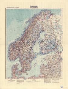 Skandinavien und Ostseeländer : Übersichtskarte Skandinavien und Ostseelander