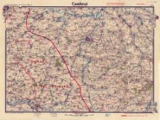 Paasche's Spezialkarten der Westfront (Belgien und Frankreich) : Maßstab 1:105 000. Blatt 3, Cambrai