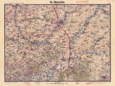 Paasche's Spezialkarten der Westfront (Belgien und Frankreich) : Maßstab 1:105 000. Blatt 4, St. Quentin