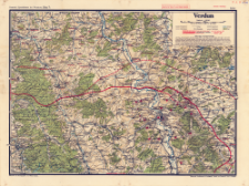 Paasche's Spezialkarten der Westfront (Belgien und Frankreich) : Maßstab 1:105 000. Blatt 7, Verdun