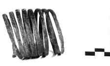 spiral bracelet (Gorszewice) - chemical analysis