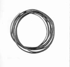 spiral bracelet (Rawa Mazowiecka) - chemical analysis