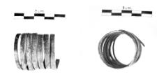 spiral bracelet (Wyciąże) - chemical analysis