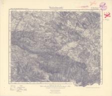 Karte des Deutschen Reiches. 447, Hirschberg in Schl., 472, Schneekoppe