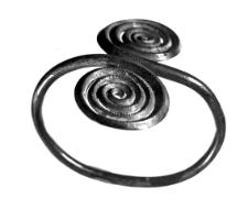 naramiennik z dwiema tarczami spiralnymi (Dratów) - analiza chemiczna