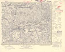 Karte des Deutschen Reiches 1:100 000, 273. Schwerin a.d. W.